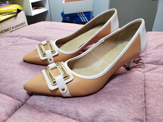 Zapatos Stilettos Mujer Talle 39.5 Colores Claros