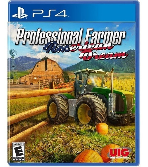 Professional Farmer America Ps4 Mídia Física Novo Lacrado