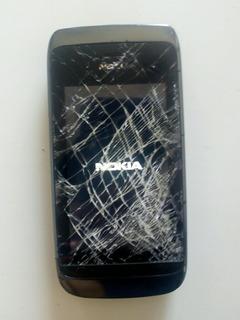 Celular Nokia Asha 310 Rm-911 Câmera 2.0 Mp Dual Chip 64 Mb