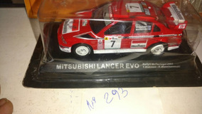 Mitsubishi Lancer Evolution Rallye 2001 Portugal 1:43