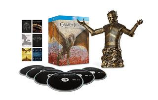 Game Of Thrones 1-6 Blu-ray + Busto De Bronze (original)