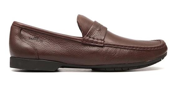 Sapato Masculino Samello Loafer Barrom Chocolate Original