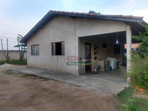 Imagem 1 de 4 de Chácara Com 2 Dormitórios À Venda, 1000 M² Por R$ 350.000,00 - Mombaça - Pindamonhangaba/sp - Ch0531