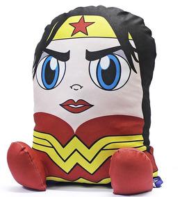 Almofada Personagem Mulher Maravilha Heroi Boneco