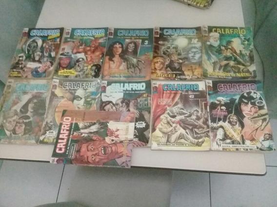 Lote Calafrio 2 Especial E 9 Outros Es. D-arte 1989