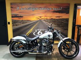 Harley Davidson Breakout 2016 Branca Impecavel
