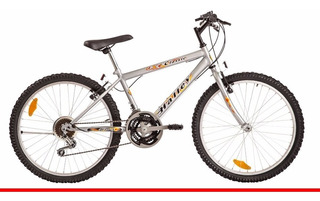 Bicicleta Halley 19131 Mountain Bike Rodado 24 Varon 18 Vel