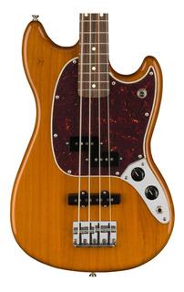 Fender 0144053528 Bajo Eléctrico Mustang Pj Natural