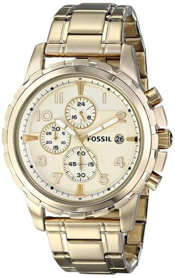 Relógio Fossil Feminino Fs4867 - Dourado