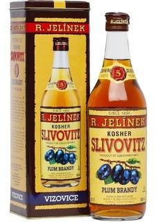 Brandy Cognac Slivovitz Gold 5 Años C/lata Republica Checa