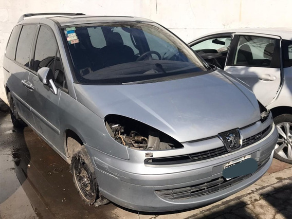 Peugeot 807 St Hdi Chocada No, Con Faltantes Para Transferir