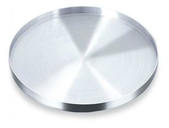 Kit 10 Forma Pizza 5 X 30 E 5 X35cm Aba Alta Profissional
