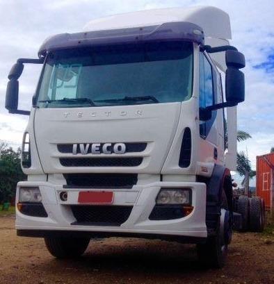 Iveco Tector 240e25 - 2010 - 6x2 - Chassi - R$ 100.000,00