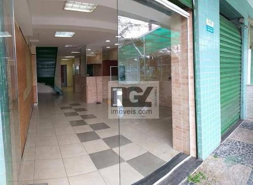 Loja Para Alugar, 60 M² Por R$ 4.900/mês - José Menino - Santos/sp - Lo0080