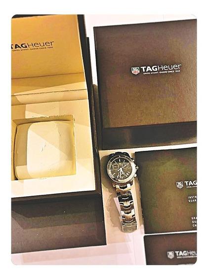 Tag Heuer Link Cj1112.ba0576 Chronograph Swiss Quartz Blue