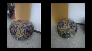 Taburetes Y Mesas De Centro (elaborada Con Llanta Reciclada)