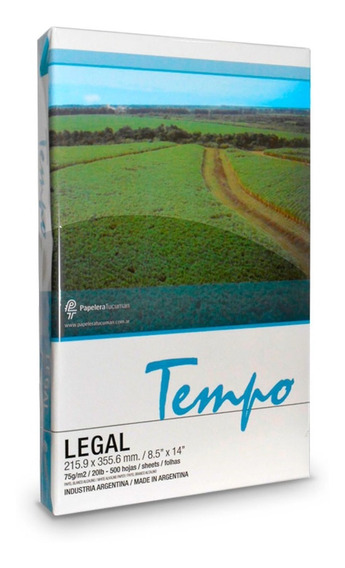 Pk 5 Resmas Oficio Legal Tempo Fsc 75 Grs Shure Papers