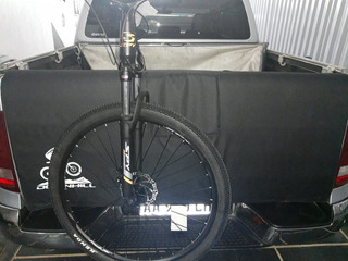 Funda Compuerta Porta Bici Negra Amarok Hilux Ranger Pick Up