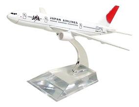 Avião Comercial Jal Japan Airlines Boeing 777 Metal