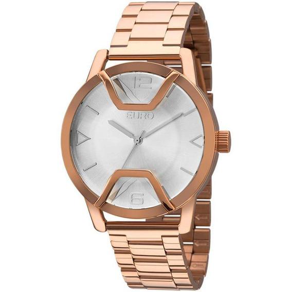 Relógio Euro Feminino Rosé Eu2035yis/4k
