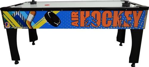 Mesa Aero Hockey Air Game Play Jogos Salão Eventos