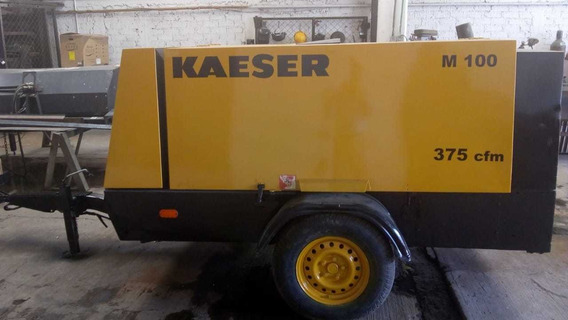 Compresor Kaeser M100 375 Cfm Semi Nuevo, Ganelo