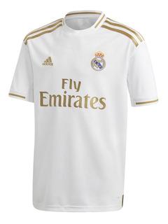 Camiseta adidas Niño Real Madrid 19/20 Original Bco/dor