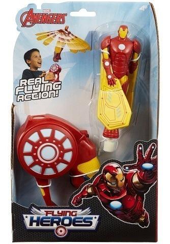 Iron Man Muñeco Volador Avengers Original Flying Heroes