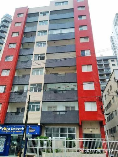 Imagem 1 de 18 de Apartamento Na Praia Grande, Guilhermina. - Jad338