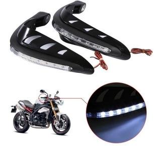 Handguards O Cubre Puños Con Luz Led Para Todo Tipo De Moto