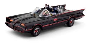 Batimovil Clásico 1966 Con Batman Y Robin Ploppy 383050
