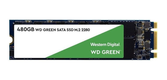 Ssd - M.2 (2280 - Sata) - 480gb Western Digital Green Wds480g2g0b