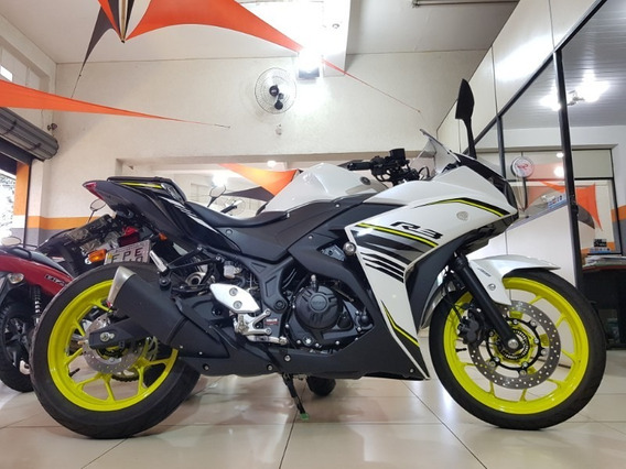 Yamaha Yzf R3 Branco 2018