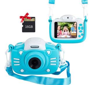 Cama Digital Para Niños Selfie Con Juegos,tarjeta Sd Y Video