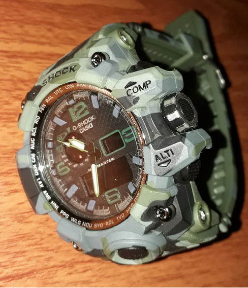 Relógio G-shock Modelo Militar Camuflado Esportivo E Elegante.