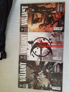 X-o Manowar N° 1 A 11 & Universo Valiant N° 1 A 6 Ed. Hqm