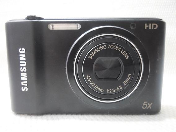 Máquina Câmera Digital Samsung St64 St 64 Preta - Usada