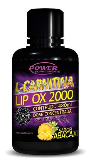 L-carnitina 2000 (480ml) Power Supplements - 20% Off