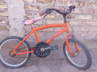 Bicicleta Rodado 16 Niña