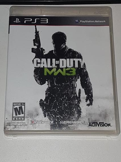Call Of Duty Modern Warfare 3 Ps3 Usado Ótimo Estado Físico