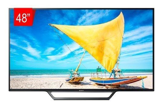 Tv Led Sony 48 W655d Smart Full Hd Xreality Pro Super Fina