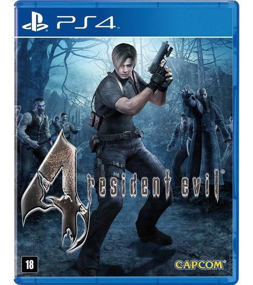 Game Resident Evil 4 Ps4 Disco Fisico Novo Original Promoção