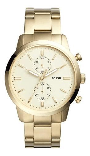 Relógio Fossil Masculino Townsman Fs5348/4dn