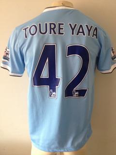 Camisa Manchester City Nike #42 Yaya Toure - Nova Etiqueta