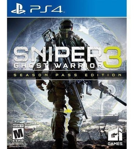 Sniper Ghost Warrior 3 Season Pass Edition Ps4 / Secundária