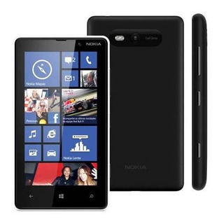 Smartphone Nokia Lumia 820 8gb 1gb Ram 4g Preto Vitrine 3