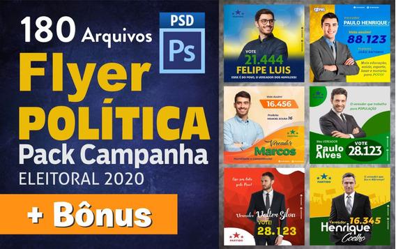 Pack Política 2020 - Editável Psd