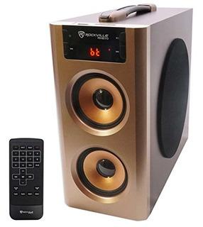 Sistema De Sonido Rockville Rhb70 Bluetooth Usb Fm
