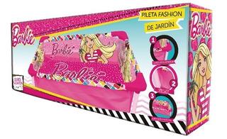 Pileta Para Nenas Disney Barbie Unibike De Lona