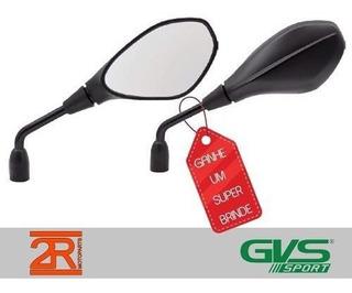 Retrovisor Gvs Bmw Gs650 F800 Yamaha Xtz Crosser Com Brinde